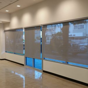 Interior Electric Blinds